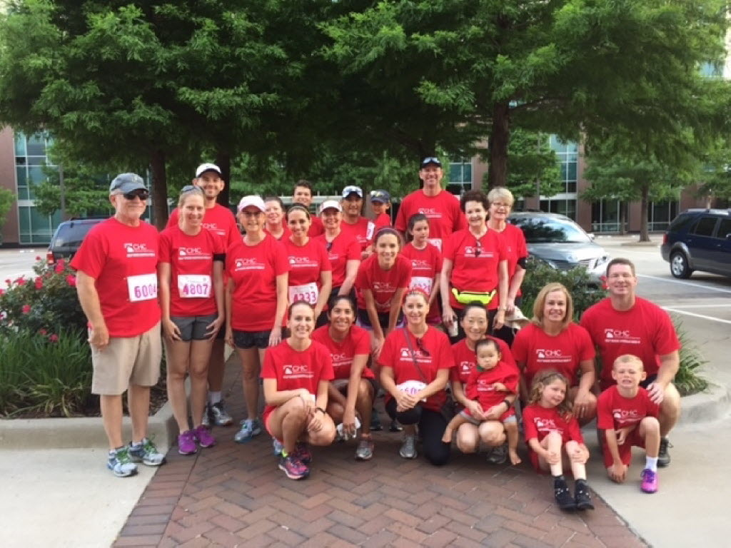 Community Hospital fielded a team for the Komen North Texas Race for the Cure. (Community Hospital)