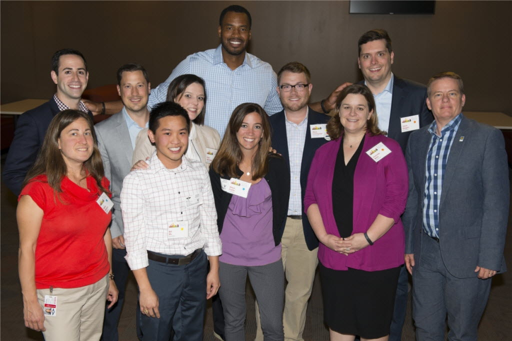 To celebrate Pride Month in June, Accenture co-hosted LGBT Live from Dallas: Pride in Your Authentic Self. The program featured former NBA player Jason Collins and encouraged conversations about the impact a positive, inclusive workplace can have on individuals. (Accenture)