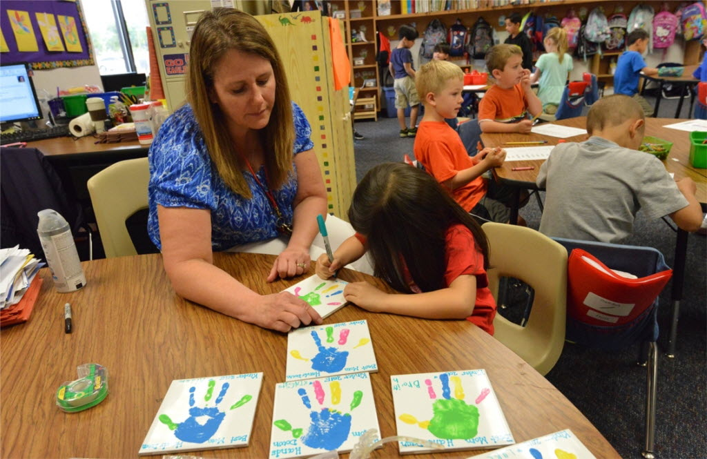 Allen ISD prides itself on providing small group and individual instruction in elementary classrooms. (Allen ISD)