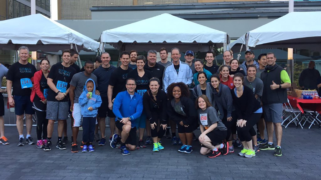 CBRE gets a big turnout each year when employees participate in the Big D Climb to benefit the Leukemia & Lymphoma Society. (CBRE)