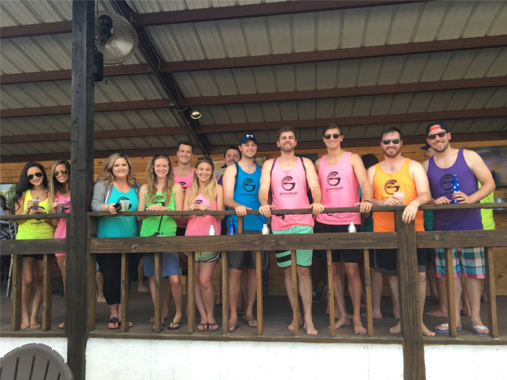 Goosehead employees competed in the company's 2016 Beach Volleyball Deathmatch. (Goosehead Insurance)