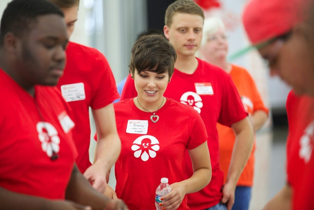 CustomInk's Inker Wellness program focuses on keeping team members physically, socially and financially well. Its first social fitness challenge united five locations and three businesses and helped create new healthy habits. (CustomInk)
