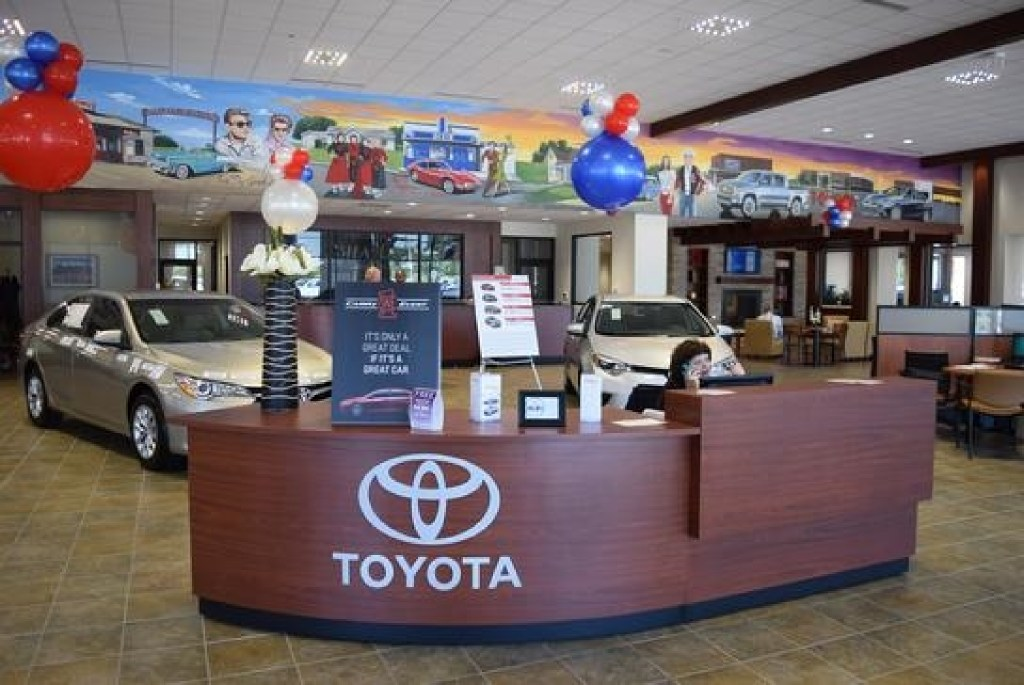 "One worker from Family Toyota of Burleson said: ""We have the coolest owner and managers in the world."" (Family Toyota of Burleson)"